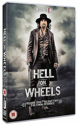 Hell on Wheels Complete Series 5 Vol 2 DVD All Episodes Fifth Season UK NEW R2