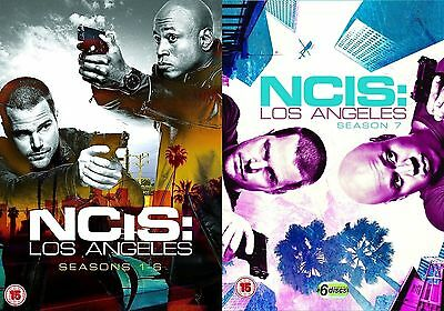 NCIS Los Angeles Complete Collection 1-7 DVD All Seasons Original R2 Brand NEW