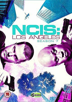 NCIS LOS ANGELES Complete Season 7 DVD Box Set Series N.C.I.S LA Seventh 7th NEW