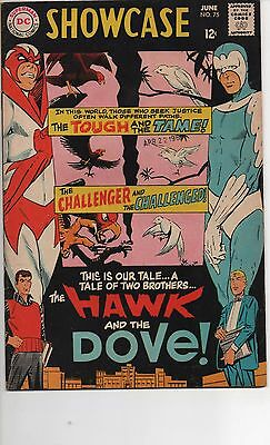Showcase #75 Vf 1968 1St App Hawk And Dove, New Tv Show Coming?!?