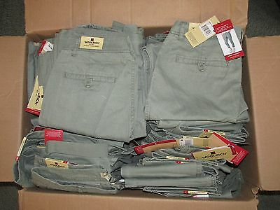 50 New Woolrich Sunday Chino Capri Pants-Sage (Light Green) Size 6