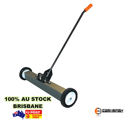 """1x 24"""" Strong Magnetic Sweeper Broom Magnet Warehouse Industrial Heavy Duty"""