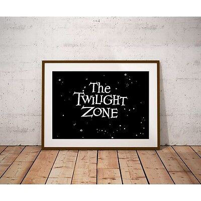 Twilight Zone Poster - Classic Weird 1960's Sci-Fi Television Show