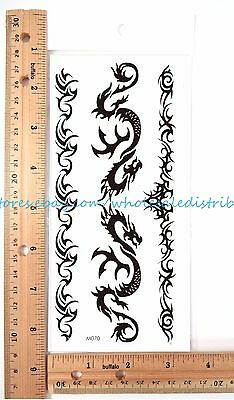US SELLER- AWESOME fake tattoos writing words temporary tattoo ...