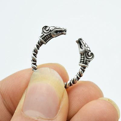 Viking Ring Adjustable size Dragon Rings Norse Vikings Mythology Jewelry Antique