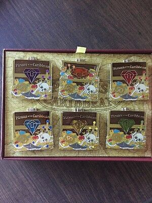 Pirates of the Caribbean 50th Anniversary Disney Limited Edition Pin Set