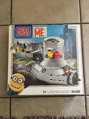 Mega Bloks Despicable Me Minion Mobile New