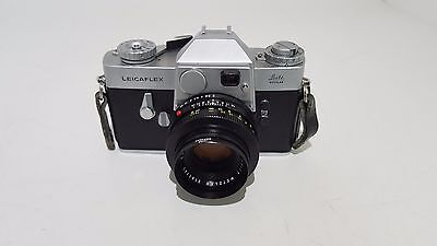 1966 Leitz Wetzlar Leicaflex SLR Camera mk1 with 50mm f/2 Summicron-R I lens