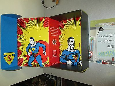 Loot Crate 2017 Origins Superman Empty Box And Booklet