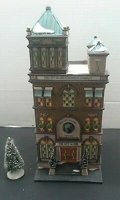 """Dept 56 Christmas in the City"""" The City Globe"""""""