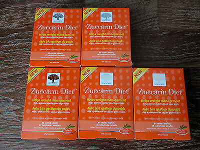 Lot of 5 New Nordic Zuccarin Diet  Dietary Supplement 300 Pieces