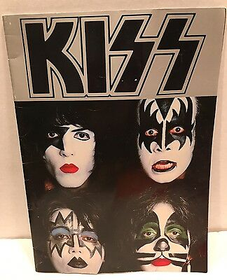 Vintage 1979 Dynasty Kiss Army Band Color Concert World Tour Photo Book Rare