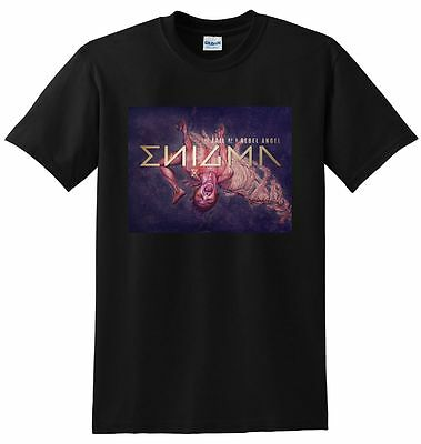 ENIGMA T SHIRT the fall of a rebel angel vinyl cd cover SMALL MEDIUM LARGE or XL