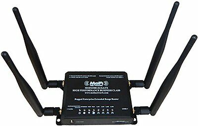 MOFI4500-4GXeLTE-SIM4 4G/LTE Router AT and T T-Mobile Verizon SIM ALL Canada