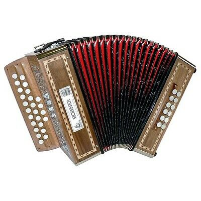 Hohner Galaad Ii Gc Accordeon Diatonique + Mallette