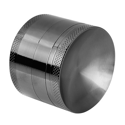Anpro Herb Grinder Premium Aluminum Grinder with Sifter and Magnetic Top for Dry