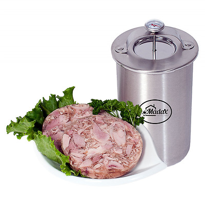 Ham Maker, Stainless Steel Meat Cooker for Making Healthy Homemade Deli Meat wit