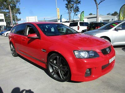 2011 Holden Commodore VE II SS V Redline Red Automatic A Wagon
