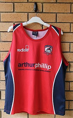 Easts Dolphins Cricket Club Men's Isc Training Singlet Rare! Xl