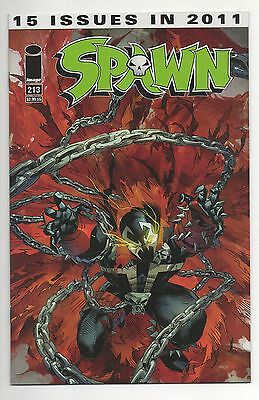 SPAWN #213  (2011)  Image McFARLANE Low Print VF/NM