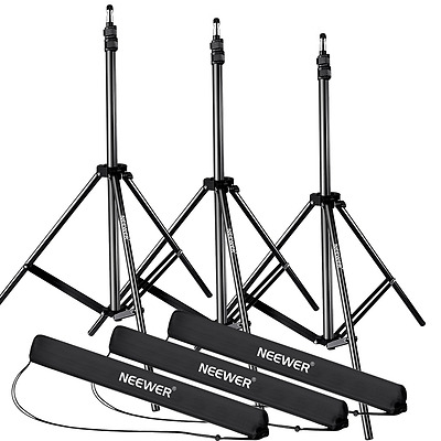 Neewer 28-83 inches/72-210 centimeters Adjustable Aluminum Alloy Light Stands wi