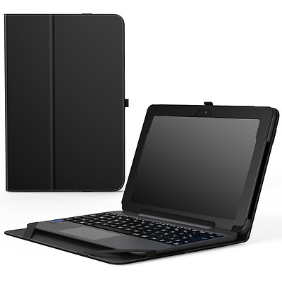 MoKo ASUS Transformer Book T101HA Case, Slim Folding Stand Cover Case with Built