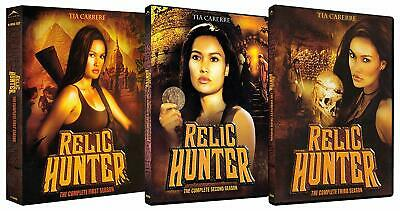 Relic Hunter Complete Collection Series 1-3 DVD Season 1 2 3 UK R2 New Compatibl