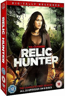 Relic Hunter Complete Series 1 DVD All Episode First Season Original UK NEW R2