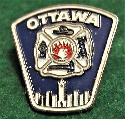 OTTAWA ONTARIO FIRE DEPARTMENT CANADA Pin / Badge Mint