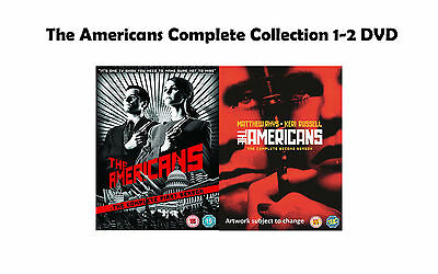 The Americans Complete Collection 1-2 DVD All Season 1 2 Original UK Release NEW