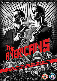 The Americans Complete Series 1 DVD All Episode First Season Original UK Release
