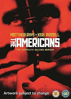 The Americans Complete Series 2 DVD All Episode Second Season UK Release NEW R2