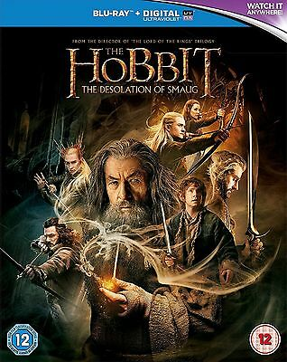 The Hobbit The Desolation of Smaug Blu ray + UV Copy UK Release Brand New Sealed