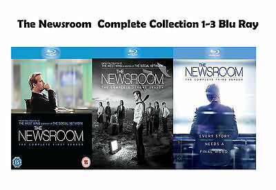 The Newsroom Complete Collection Series 1-3 Blu Ray Season 1 2 3 UK NEW