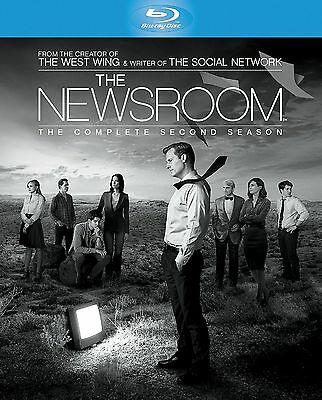 The Newsroom Complete Series 2 Blu Ray All Episode Second Season Original UK NEW