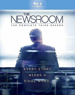 The Newsroom Complete Series 3 Blu Ray All Episodes Third Season Original UK NEW