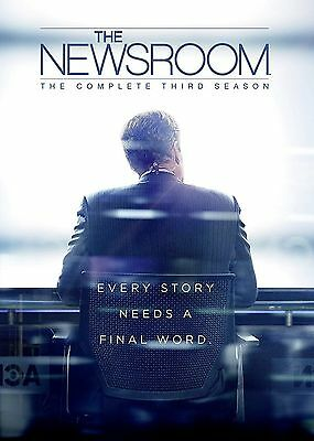 The Newsroom Complete Series 3 DVD All Episodes Third Season Original UK NEW R2