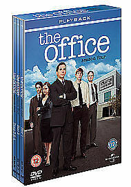 The Office An American Workplace Complete Series 4 DVD Fourth Season UK NEW R2