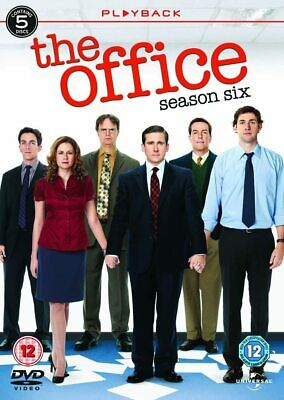 The Office An American Workplace Complete Series 6 DVD Sixth Season UK NEW R2