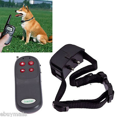 Training Vibra Electric Pet Dog Puppy Collar High Quality Strong Remote Control