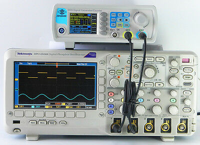 Digital 30MHz 2 Channel DDS Arbitrary Waveform Function Signal Generator Counter