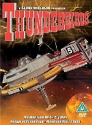 Thunderbirds Volume 5 DVD Sylvia Anderson Peter Dyneley UK Release New Sealed R2
