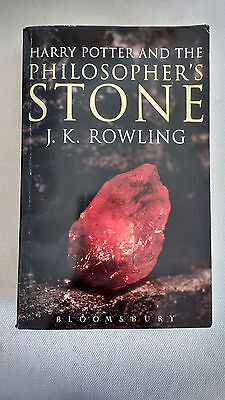 Harry Potter and the Philosopher's Stone: Adult Edition, 1/1 Rare First Print