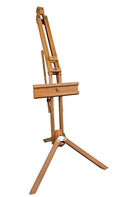 Artist's Studio Easel Beech Wood - Beutiful finish with brass fittings