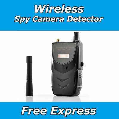 Cell Phone Wireless Bug Detector Spy Camera Monitor Security Anti Video Device