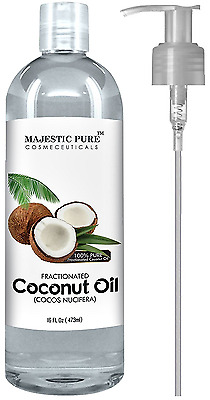 Fractionated Coconut Oil 16 Oz - 100% Pure & Natural - One of the Best Aromather