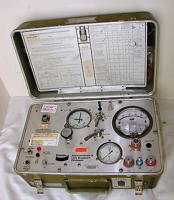 Military Avionics Bendix Oxygen Regulator Field Tester