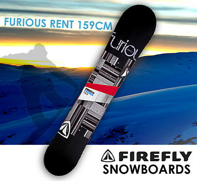 FIREFLY FURIOUS RENT SNOWBOARD 159cm Freestyle  Light Weight All-mountain All-te