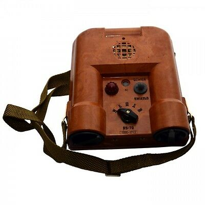 Portable Radiation Detection Device RS 70 Geiger Meter Counter Polish Army NEW