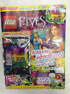 Lego ELVES Magazine SPECIAL EDITION ISSUE 5 JULY 2017 FREE LIMITED EDITION LEGO